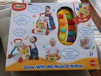 Baby Toy - brand new musical walker Mississauga, L5B 4M7