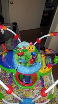 baby's multicolored jumperoo SEASIDE