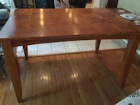 Dining table counter height - real wood !