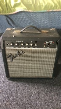 black and gray Fender guitar amplifier Plymouth, 02360