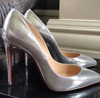 Silver Pigalle Follies Christian Louboutin  Washington