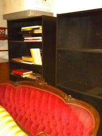 pair black bookcases Beltsville