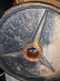 Pair barbell 35 pounds