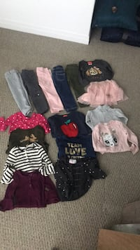 Toddler girls lot size 3 Barrie, L9J 0H5
