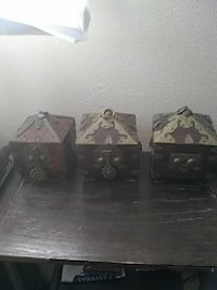 Vintage Rosewood Oriental jewelry boxes Richfield, 53033