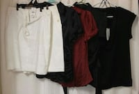 Resale lot of dress shirts and skirts. High end brands. NWT!! Murrells Inlet, 29576