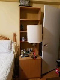 Large night stand bookcases Montreal