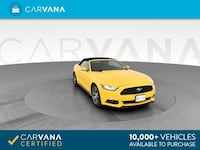 2016 Ford Mustang EcoBoost Premium Convertible 2D Downey, 90240