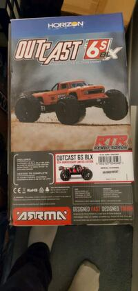 Outcast 6s 10th anniversary only 500 made worldwide. New in sealed box