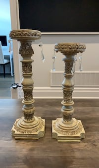 Decorative candle sticks  Vaughan, L6A