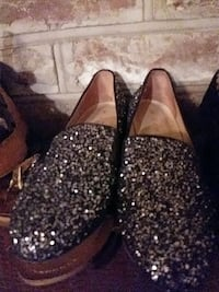 Italian sparkle flat shoes Summerville, 29485