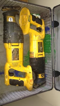 Dewalt 18 volt reciprocating saw used 60$ for both no batteries bring one to test them out but they do work  Winnipeg, R2L 0T9