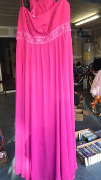 pink beaded spaghetti dress Pittsburg, 94565