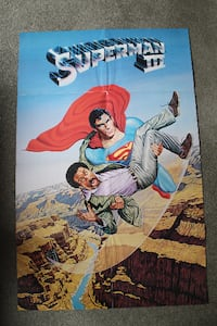 1983 Superman 3 poster Brampton