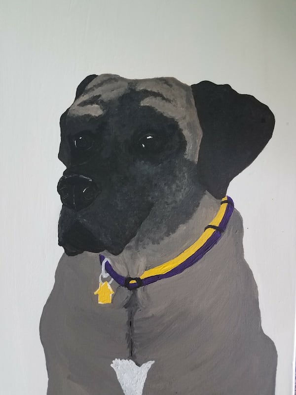 Pet portrait artist 6