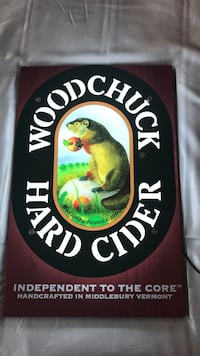 Woodchuck Hard Cider LED Light Omaha