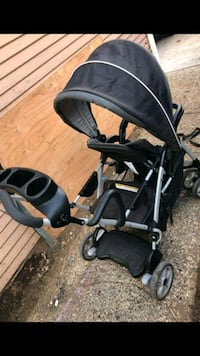 GRACO Roomfor2 Click Connect Stand & Ride Stroller Vista, 92084