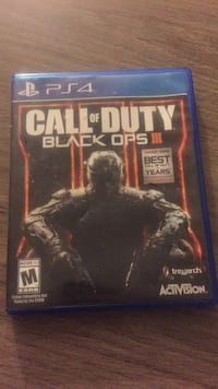 Call of Duty Black Ops 3 PS4 game case Lake Wales, 33853