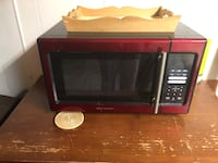 black and red microwave oven Maple Heights, 44137