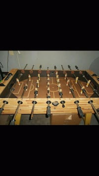 brown and black foosball table Wichita, 67213
