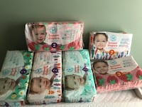 Three assorted baby's diaper packs (Honest Co.) Stafford, 22554