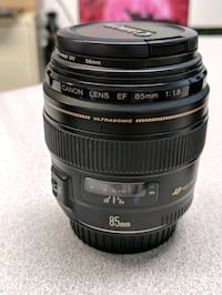 Canon 85mm with UV filter San Jose, 95122