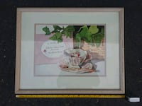 Mother and daughter tea painting Roseville, 95678