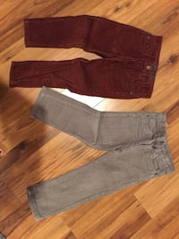 two gray and black denim jeans Springfield, 22152