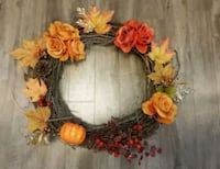 Handmade fall wreaths  Edmonton