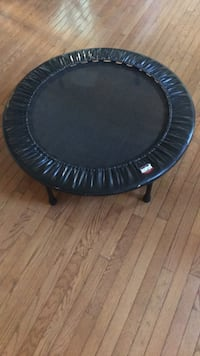 Small round black metal indoor trampoline Lorton, 22079