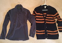 Old Navy Silky Shirt and Forever 21 Sweater size Small Smyrna, 37167