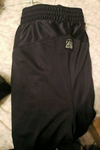 Large Nike basketball shorts black