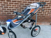Graco click connect jogging stroller  Somerset County, 08844