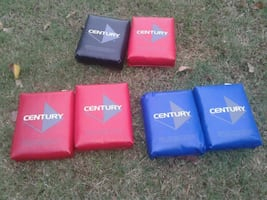 Century sparring hand held pads