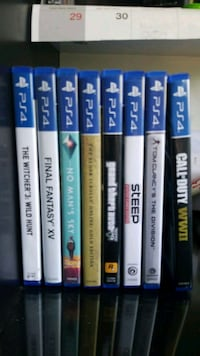 Ps4 Games (Prices vary, all in great condition!) Piscataway Township, 08854