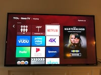 TCL 4K ULTRA HD ROKU TV GONE BY 12/21 Laurel, 20724