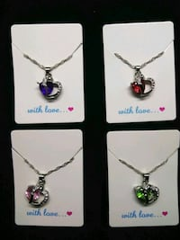 Heart Fashion Necklaces 4 colors Dayton, 45410