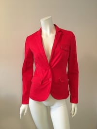 Smart Set blazer/vest HOT RED, XS Montréal, H1X 1S1