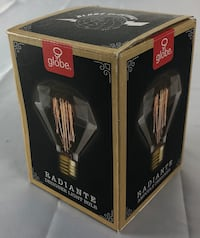 Globe Radiante designer light bulb Kitchener, N2M
