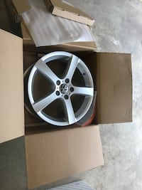 "Volkswagen sportwagen wheels & roof rack.  Brand new in box 17"" wheels Gaithersburg, 20878"