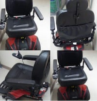 Black and Red Motorized Wheelchair Denver, 80205
