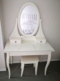 Ikea makeup table and stool Toronto, M2R 3W5