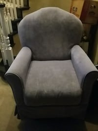 gray and black fabric sofa chair North Las Vegas, 89084