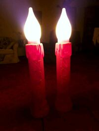Outdoor Christmas Candle Lights