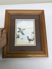 Framed Geese Picture (Local Artist)  Staunton, 24401