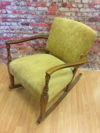 Cool Retro Upholstered Rocking Chair - Excellent Condition ! Northglenn, 80234