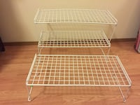 3 Stacking wire shelves Seattle, 98107