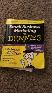 Small Business Marketing for DUmmies book