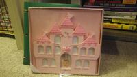 baby's pink and white castle photo frame Baton Rouge, 70808
