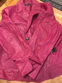 Brand New Never Worn Jones New York leather jacket 549 km